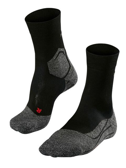 Falke RU3 - Chaussettes course à pied Femme - gris/noir